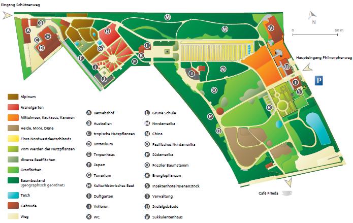 Gartenplan  Gartenplan — Institut für Biologie und Umweltwissenschaften ...