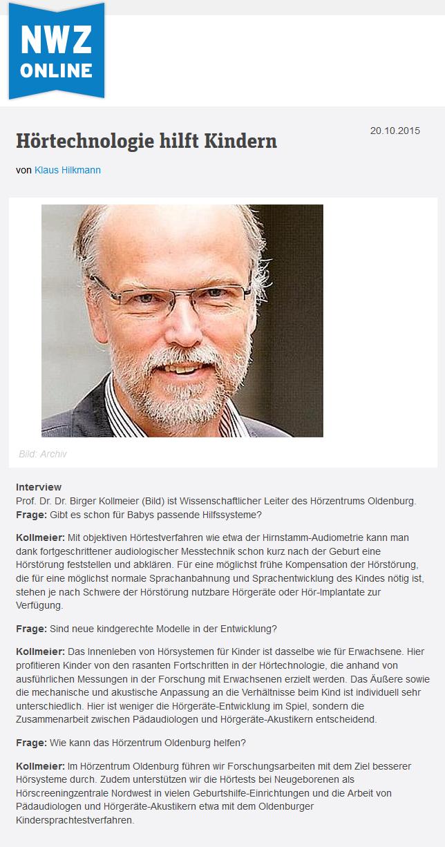 Presse-Archiv 2011-2015 — Uni Oldenburg