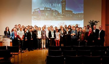 Group picture with the participants of the ICCCE 2018