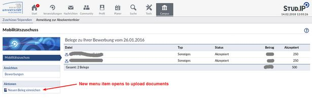 How to upload your application documents step 2