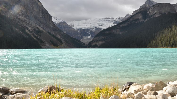 Lake Louise in den Rocky Mountains