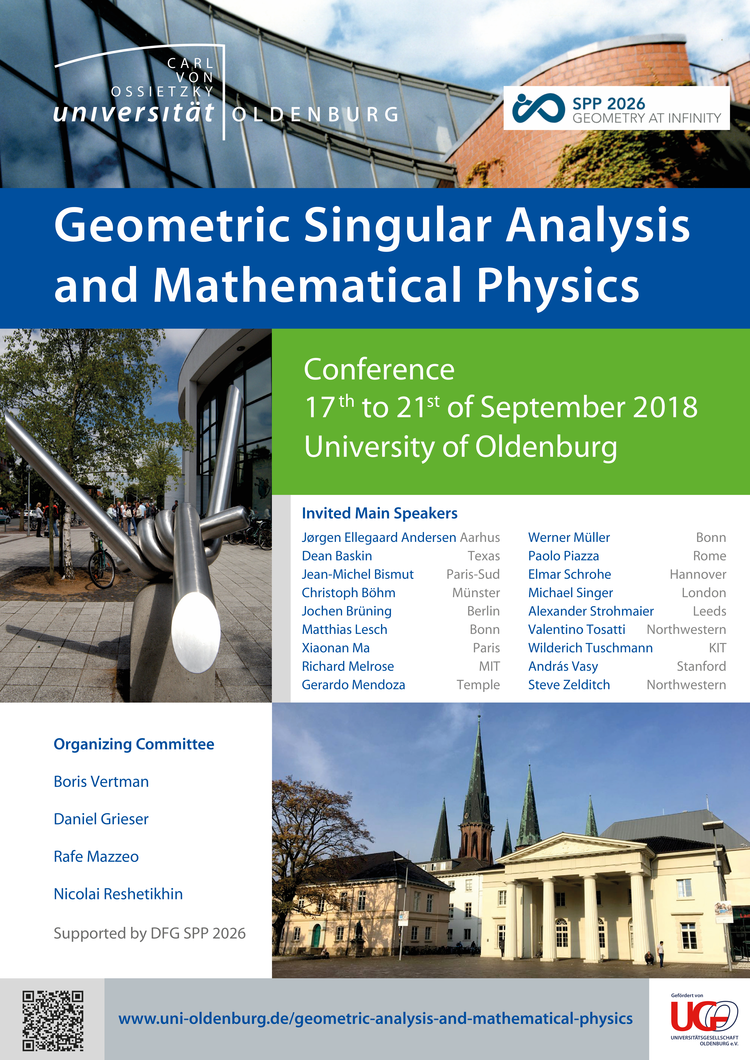 Tagung Geometric Analysis and Mathematical Physics — Carl