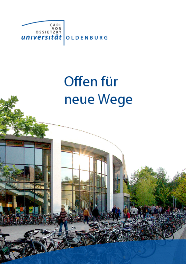 Flyer Universität Oldenburg