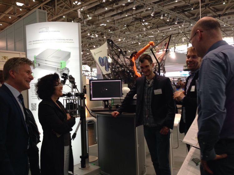 A1 Robotics Messe Hannover