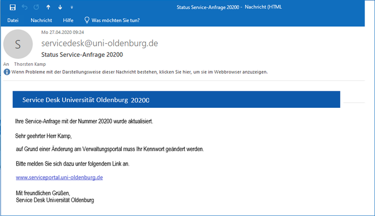 Phishing-Mail